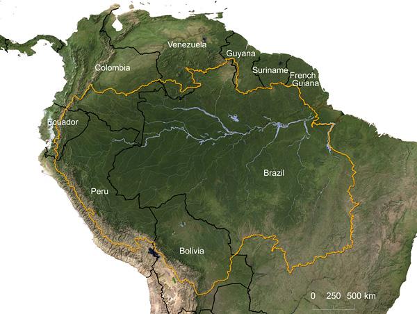 Amazon River watershed © Greg Fiske